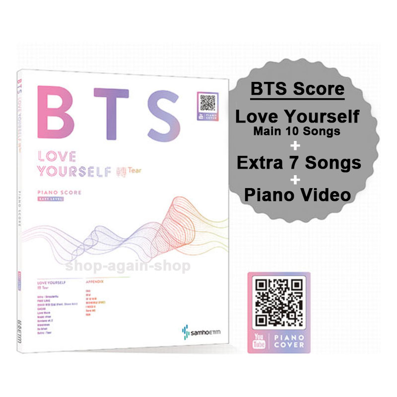 Bts Score Love Yourself Tear 10 Songs Extra Bangtan Boys 9 Songs Sheet Music Ebay